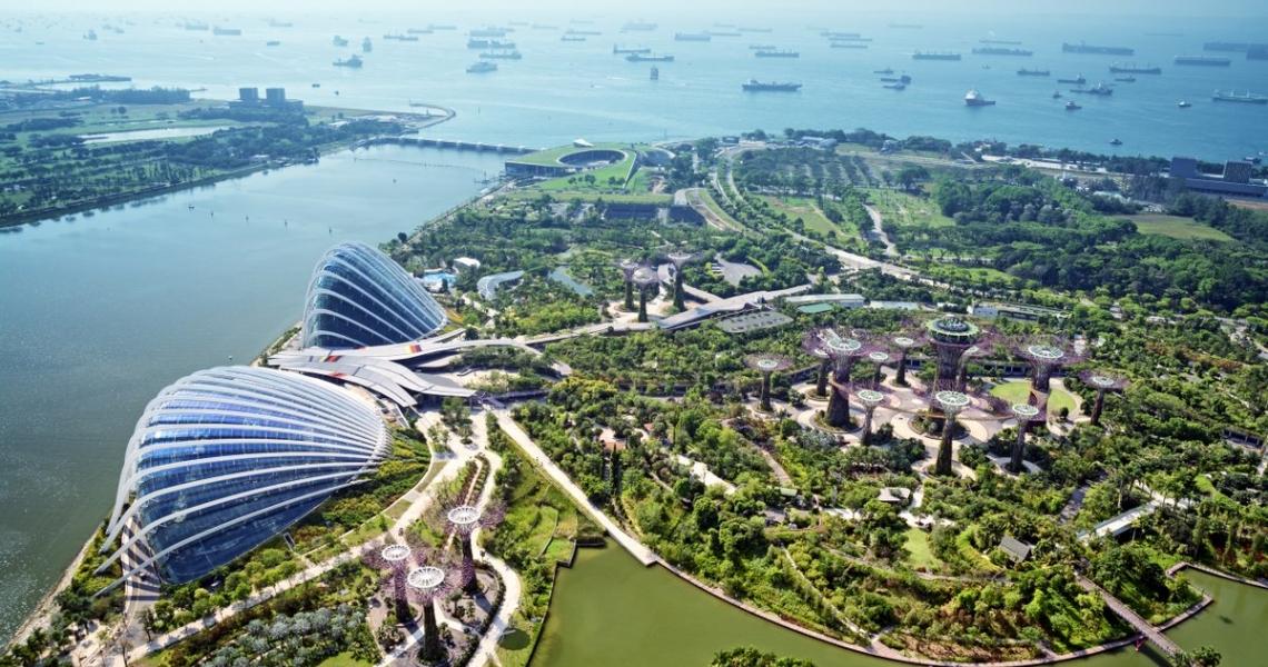 เขื่อนมาริน่าแห่งสิงคโปร์-จัดการน้ำสะอาดอยู่หมัด