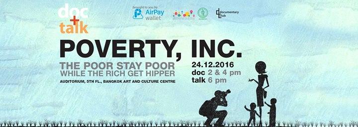 Doc+Talk5 : Poverty, Inc. บริษัทนี้มีความจนมาขาย