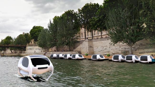 เตรียมเปิดตัวแท็กซี่น้ำรักษ์โลกใจกลางกรุงปารีส