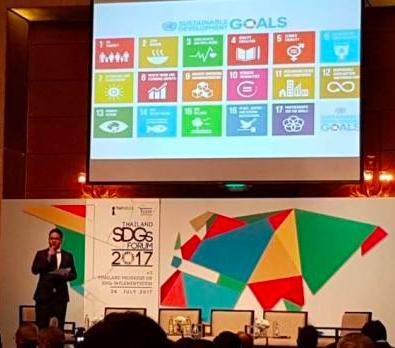 "SDG Move บนเวทีสัมมนา ""Thailand SDGs Forum 2017#3: Positioning Thailand on SDG Map"""