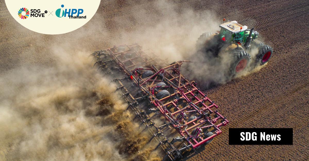การปล่อยก๊าซเรือนกระจกจากการทำฟาร์มทั่วโลก คุกคามความพยายามลดโลกร้อนตามความตกลงปารีส