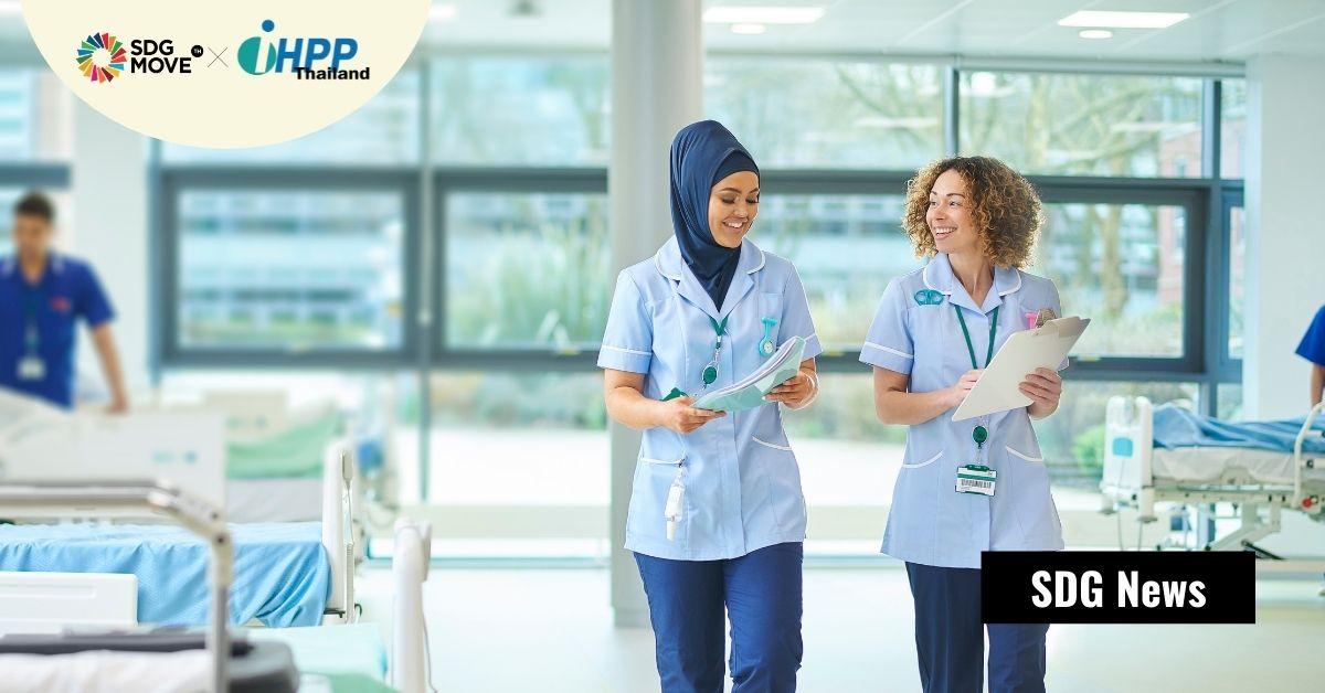 ผู้หญิงเป็นแนวหน้าของบุคลากรสาธารณสุขที่ให้บริการสุขภาพ แต่อยู่ในตำแหน่ง 'ผู้นำ' น้อยกว่าผู้ชาย