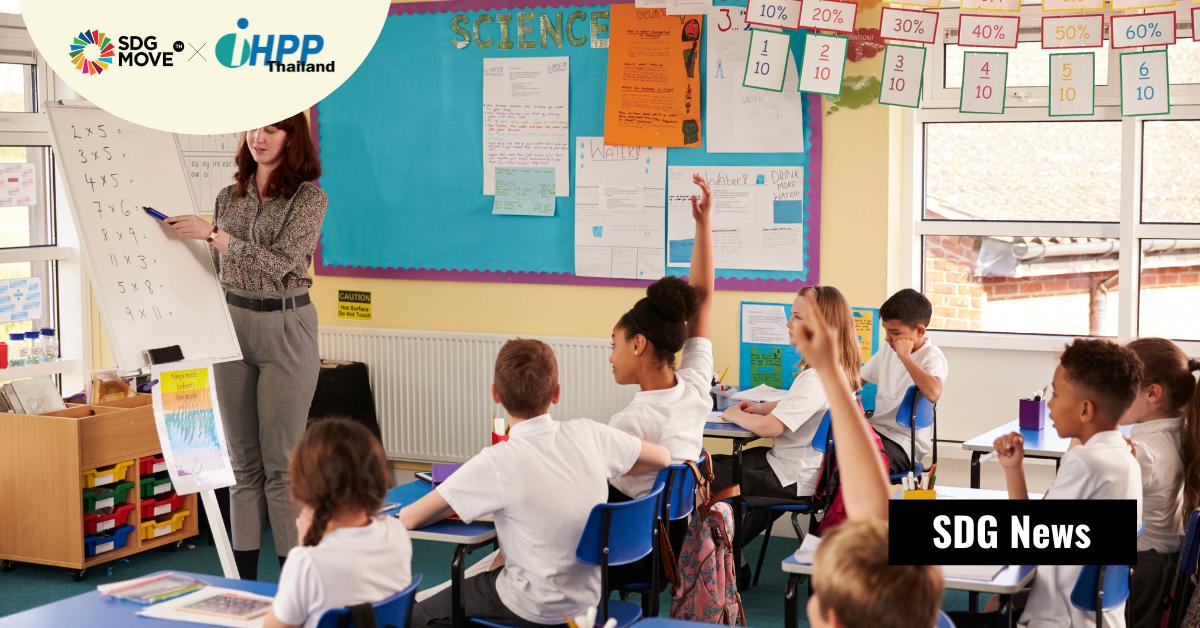 UNESCO และ WHO ผลักดัน 'โรงเรียนส่งเสริมสุขภาพ' เพื่อให้สุขภาพและความเป็นอยู่ที่ดีของนักเรียน