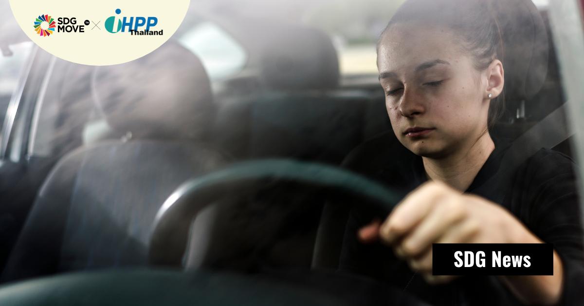 ผู้ขับขี่ที่มีความผิดปกติด้านการนอนเพราะทำงานกะดึก เพิ่มความเสี่ยงการเกิดอุบัติเหตุบนท้องถนน 300%