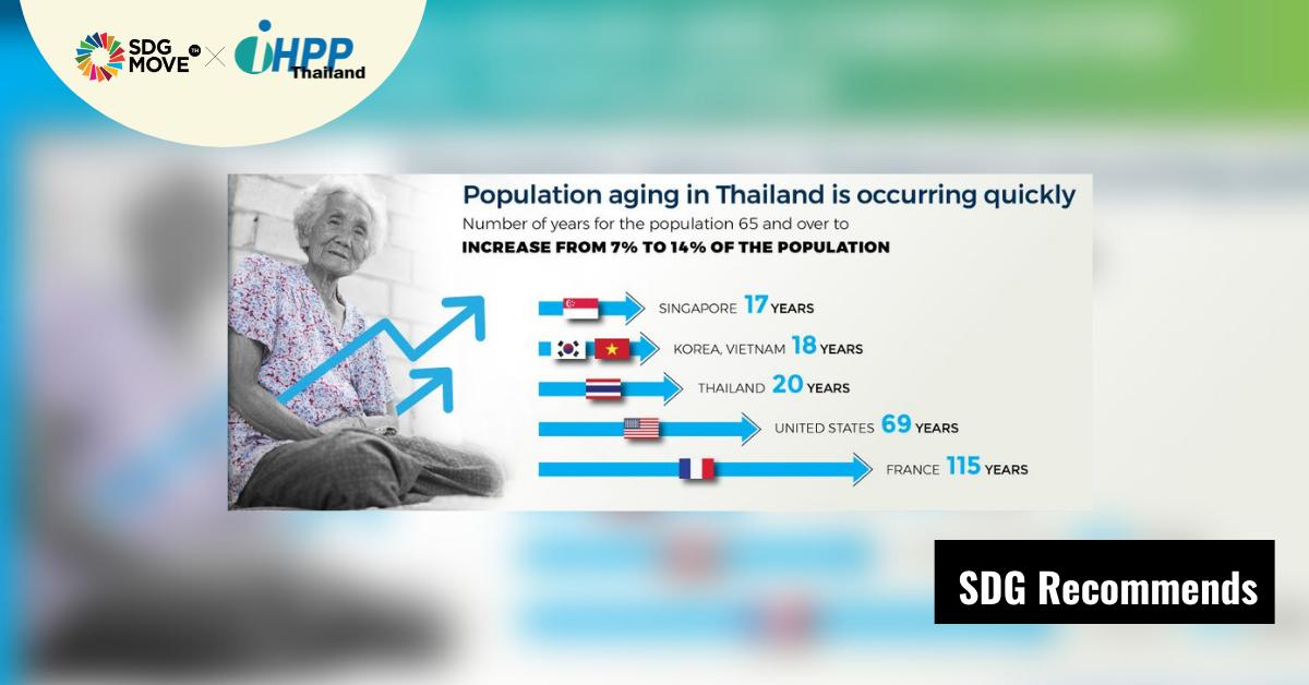 SDG Recommends   Aging and the Labor Market in Thailand รายงานจากธนาคารโลกเผยว่า ไทยมีประชากรสูงวัยเพิ่มขึ้นอย่างรวดเร็ว ขณะที่คนส่วนมากยังยากจน